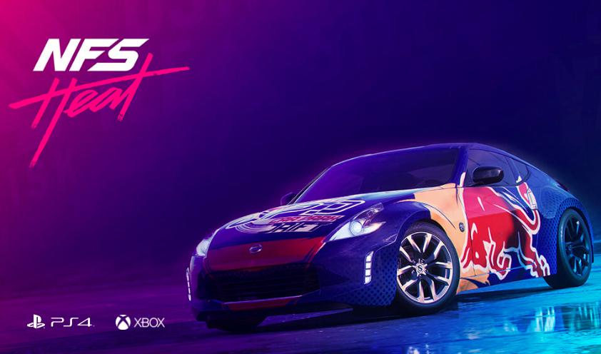 """(PS4 + XBox One) GRATIS """"Nissan 370"""" für """"Need for Speed Heat"""""""