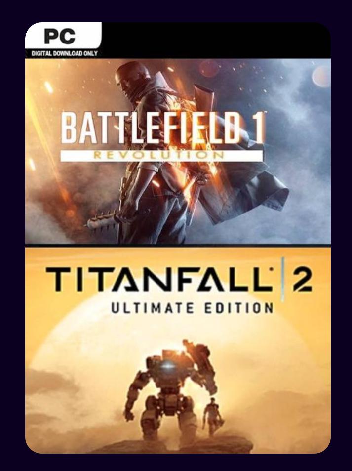 Battlefield 1 Revolution und Titanfall 2 Ultimate Bundle