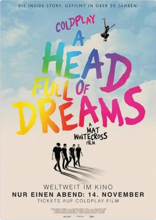 "Musikdokus u.A. ""Coldplay A Head Full of Dreams"" , ""Simon & Garfunkel Traumwandler des Pop"" ,""Frank Zappa Zapped"" , ""John Lennon Imagine"""