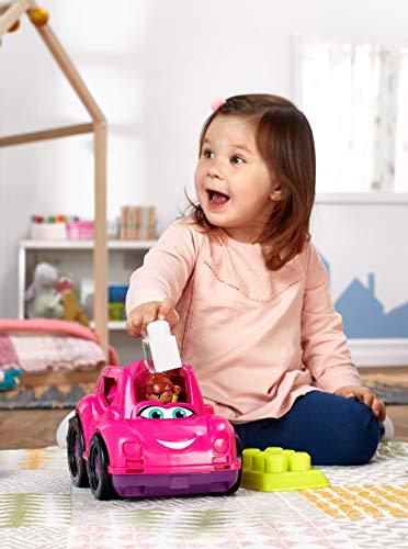 Mega Bloks GCX11 - Cabrio mit Bausteine und Aufbewahrung pink, Spielzeug ab 1 Jahr