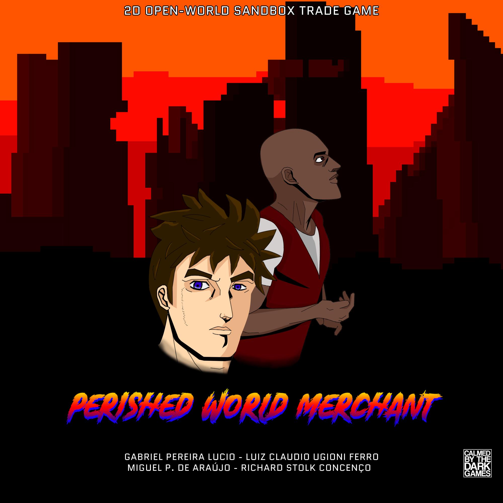 """Perished World Merchant"" + ""Calmed by the Dark: NEON"" (PC) gratis auf itch.io"