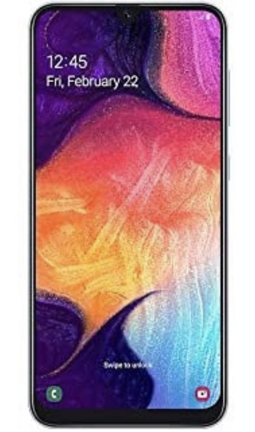 Samsung Galaxy A50 Dual SIM 128GB 4GB RAM SM-A505F/DS Weiß SIM Free [Amazon.de]