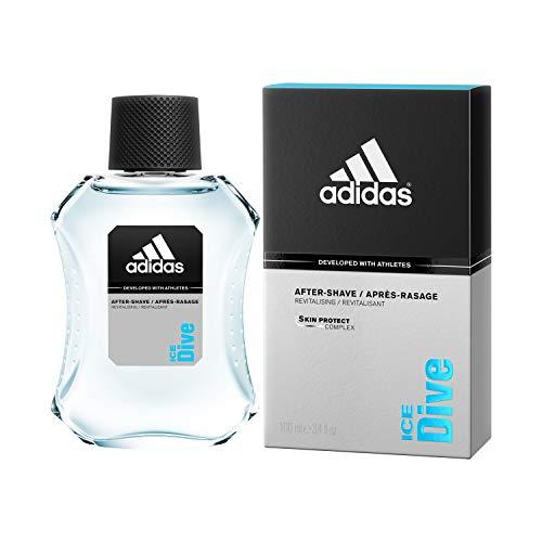 adidas Ice Dive After Shave – Pflegt die Haut nach der Rasur & verhindert Hautirritationen – 1 x 100 ml