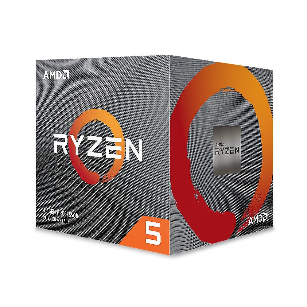 AMD Ryzen 5 3600XT (6x 3,8 GHz) 35MB Sockel AM4 CPU boxed