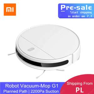 XIAOMI MIJIA Mi Sweeping Mopping Robot Vacuum Cleaner G1