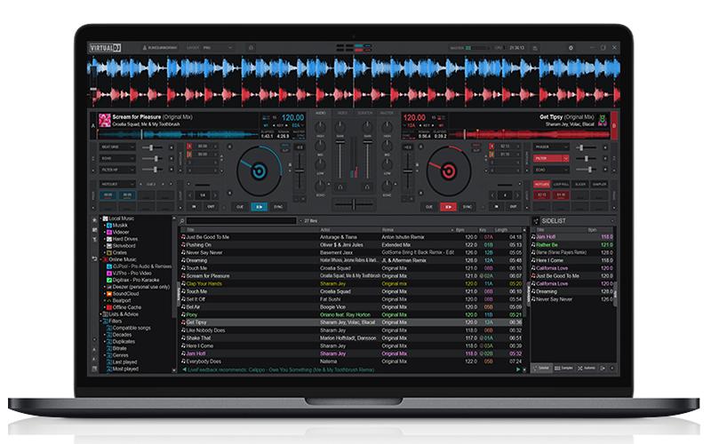 Kostenlose Home-Version von Virtual DJ 2021