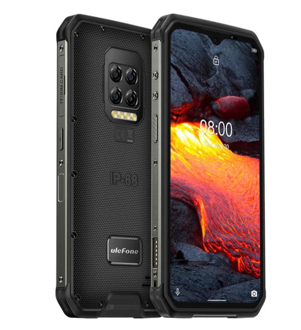 Ulefone Armor 9E (1 Jahr Allianz-Garantie) - 64MP - Android 10 - IP68/IP69K - Helio P90 Octa-Core - 8GB RAM 128GB - 6,3'' FHD + - NFC