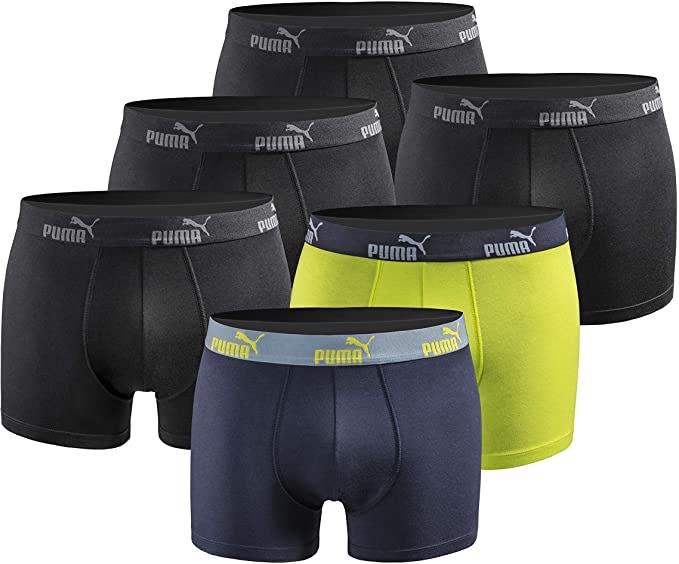 PUMA Herren Boxershort Limited Statement Edition 6er Pack in 5 Varianten
