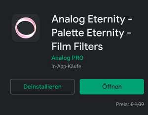 Bildbearbeiter Android App Analog Eternity