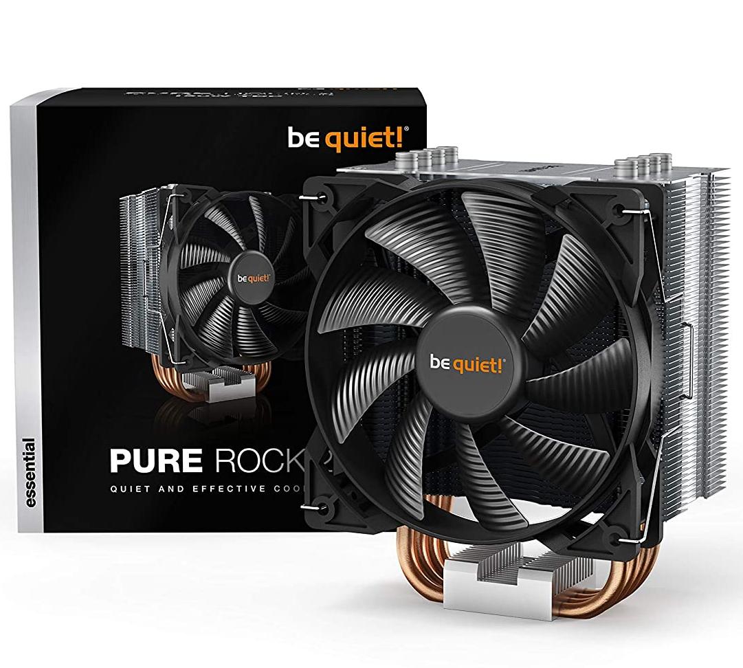 be quiet! Pure Rock 2 Silver, CPU-Kühler