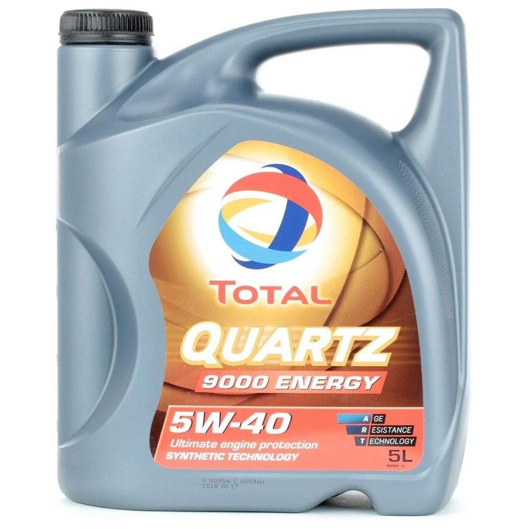 Total Motoröl, 5W-40, Quartz 9000 Energy, 5 Liter