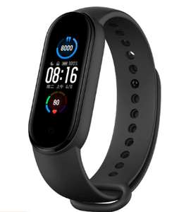 "Xiaomi Mi Band 5 (CN Version): Fitness Tracker - 1.1"" Amoled Display - 24/7 Herzfrequenzmessung - 11 Sportmodi - BT 5.0"