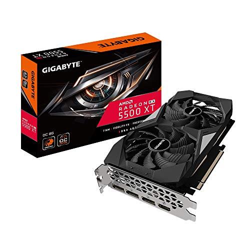 Gigabyte Radeon RX 5500 XT OC 8G, 8GB GDDR6, HDMI, 3x DP (GV-R55XTOC-8GD)