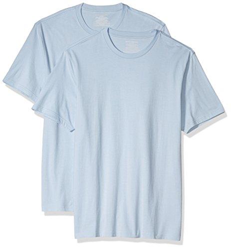 (Prime) 2x Amazon Essentials Slim Fit T-Shirts (blau)