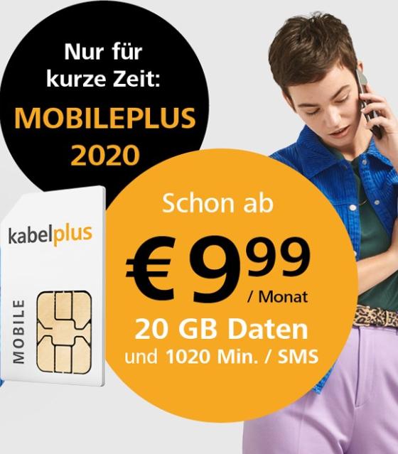 Kabelplus MobilePLUS 2020