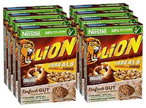 8x 400g Lion Cereals um 14,71€ bzw. 12,26€