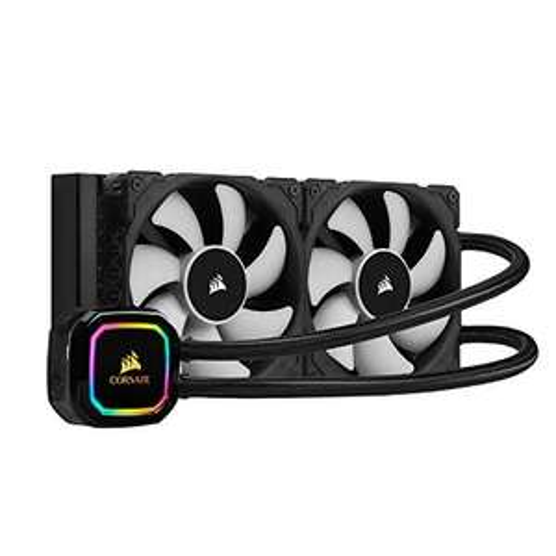 Corsair iCUE H100i RGB PRO XT CPU-Flüssigkeitskühlung (240-mm-Radiator)