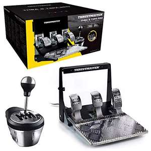 Thrustmaster TH8A & T3PA Pro Race Gear Pedalset und Add-On Shifter