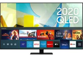 """Samsung 85"""" QLED TV 85Q80T (inkl. Soundbar und Cashback 2538,80€ möglich)"""