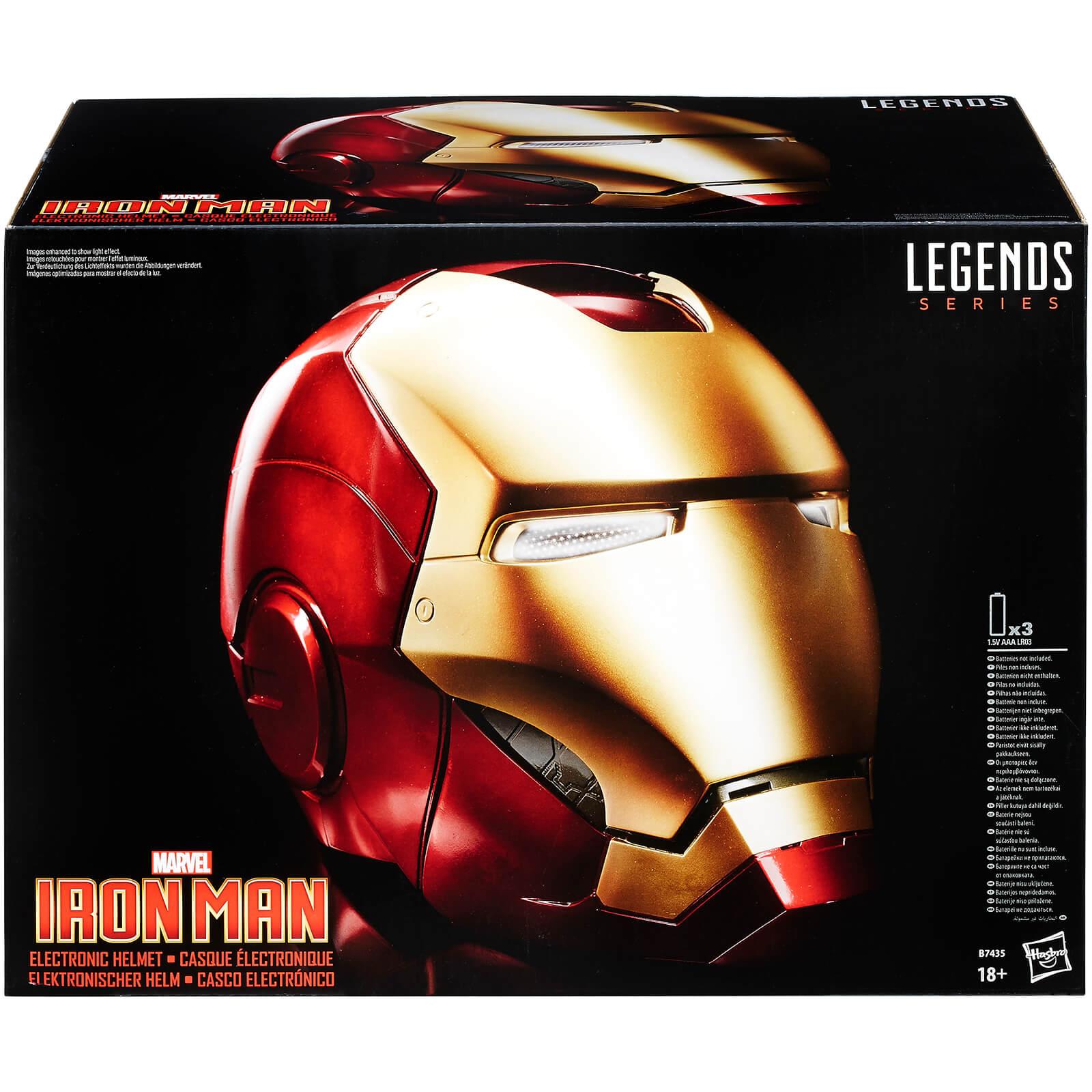 Iron Man Helm und mehr Merch -30% bei Zavvi