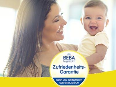 BEBA Folgemilch GRATIS TESTEN & 100% GELD ZURÜCKERHALTEN