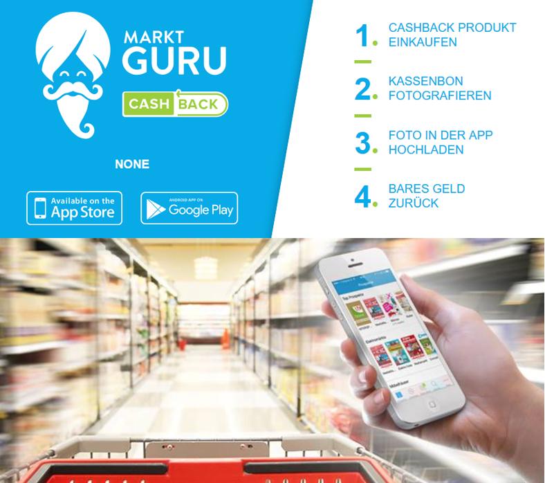 Marktguru Deal Radar – neue Cashbacks für diese Woche