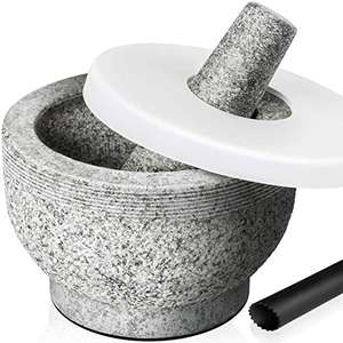 Granit-Mörser mit Stößel, 0,5l