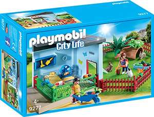 PLAYMOBIL City Life Kleintierpension