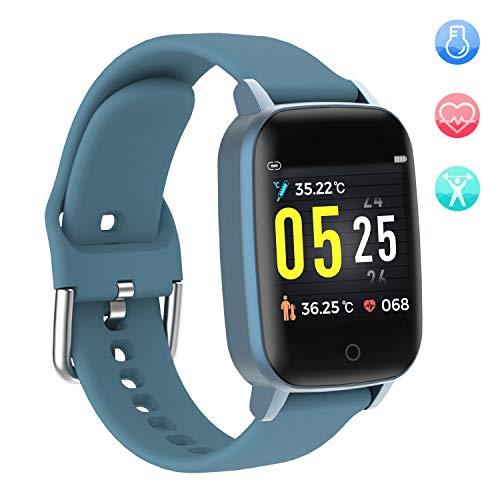 Smartwatch Fitness Tracker mit Pulsuhr