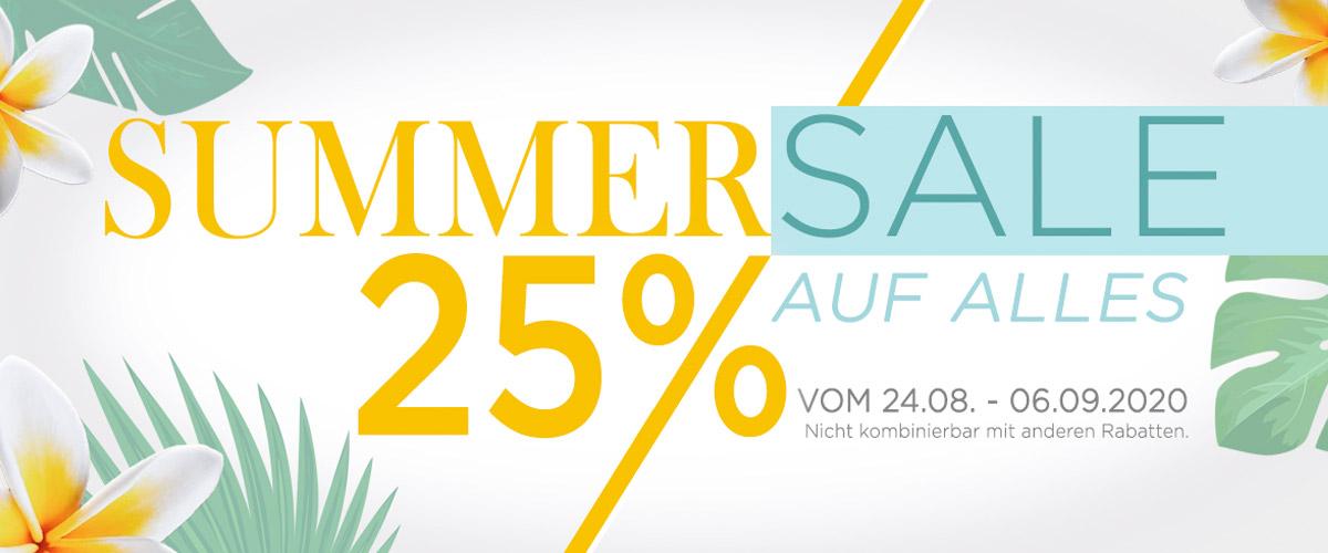 Summersale bei Eclat bis zu 77% Rabatt, 25% auf alle Produkte