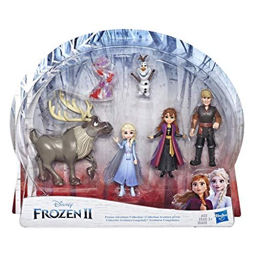 Frozen 2 Anna, Elsa, Kristoff, Sven, Olaf und Gale Abenteuer Freunde-Set