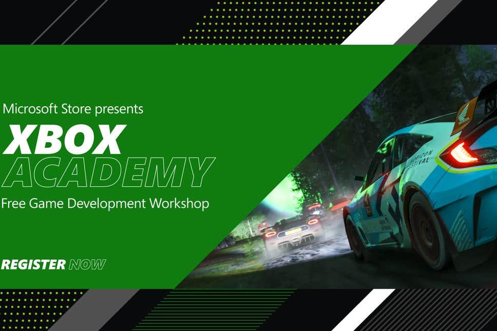 Kostenloser Xbox Academy Game Development Workshop bei Microsoft