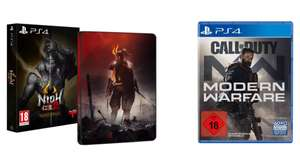 Call of Duty: Modern Warfare (2019) (PS4 / Xbox One) oder NiOH 2 Special Edition (PS4)