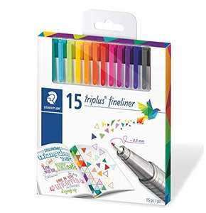 Staedtler Triplus Fineliner, 0,3mm, 15er Pack