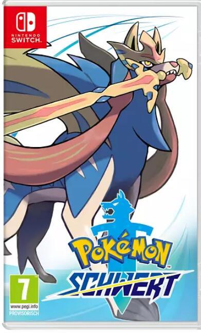 Pokémon Schwert oder Schild (Nintendo Switch) bei MediaMark zum bisherigen Preisjäger Bestpreis oder Pokémon: Let's Go, Evoli!