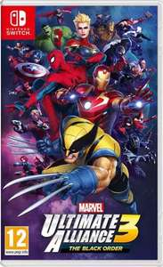 Marvel Ultimate Alliance Black Order (Nintendo Switch) bei Media Markt zum Super(helden)preis