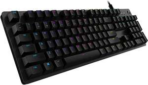 Logitech G512 mechanische Gaming-Tastatur, GX-Brown Taktile Switches
