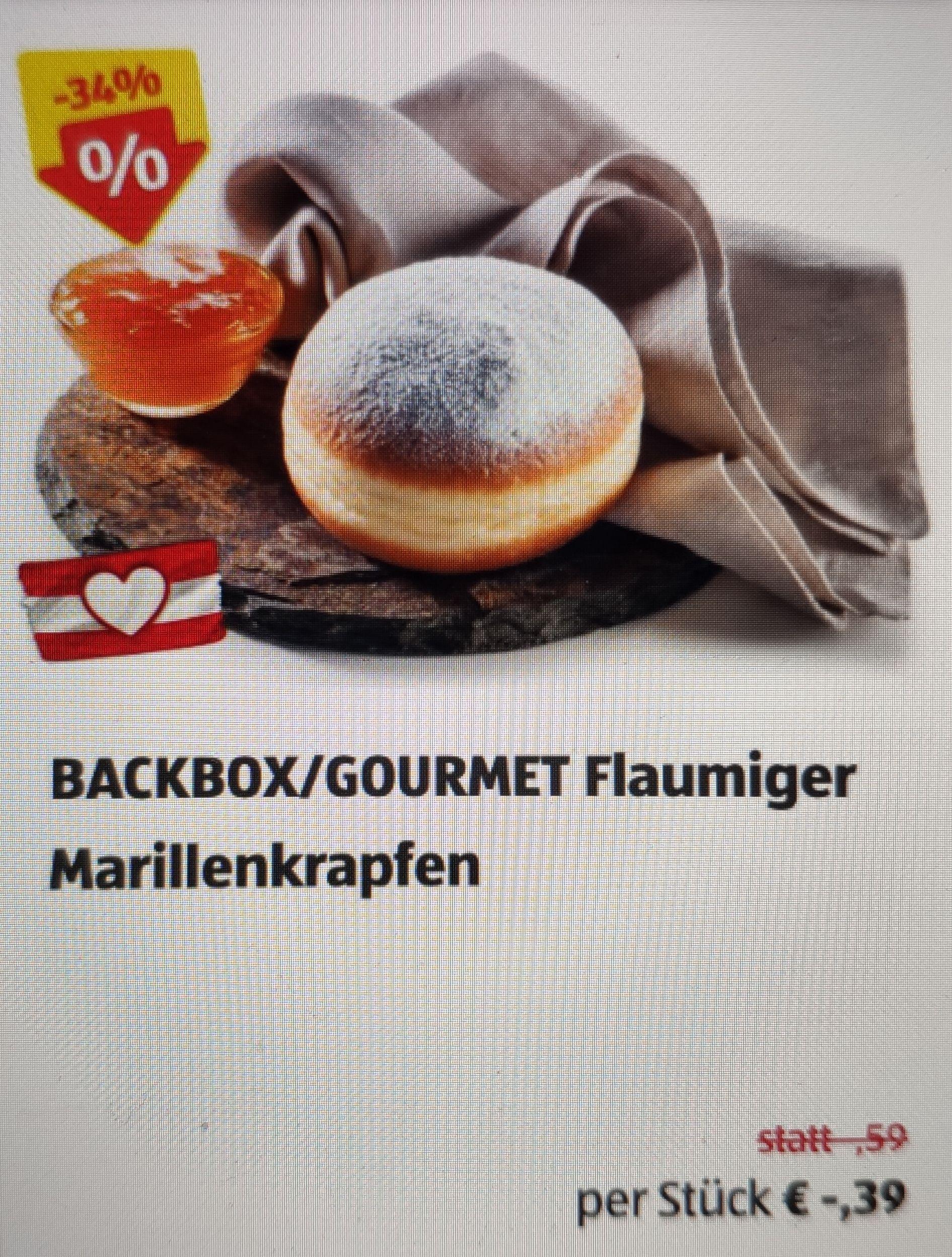Flaumiger Marillenkrapfen - 0,39