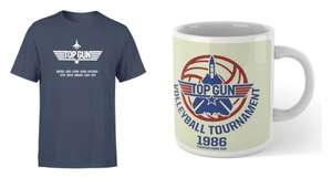 Top Gun Bundle aus T-Shirt & Tasse