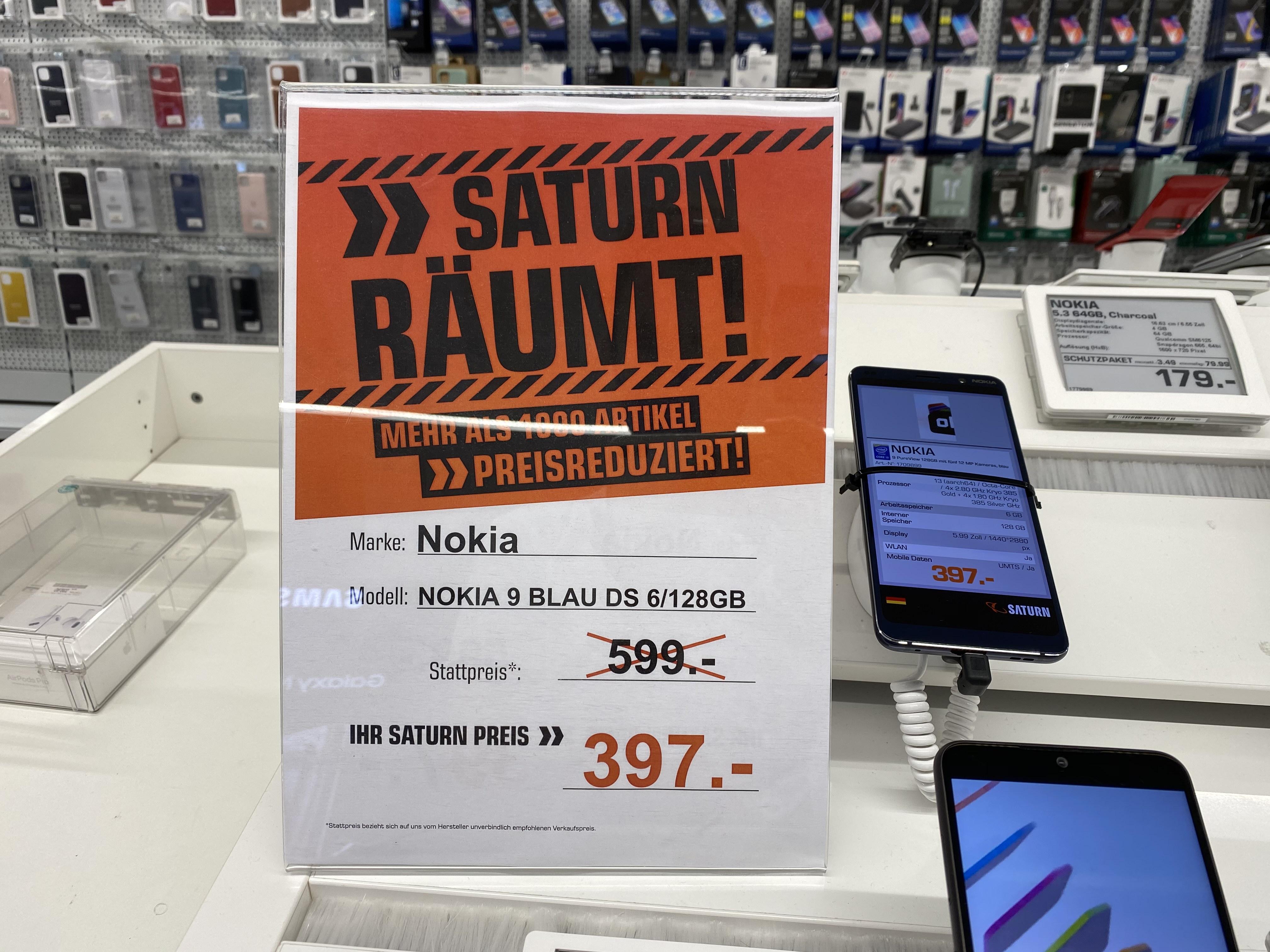 Nokia 9 Pureview - Lokaler Deal