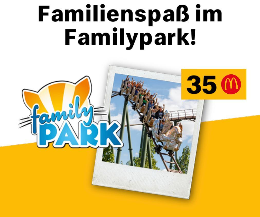 Familypark: Kostenloses Ticket für 35M's
