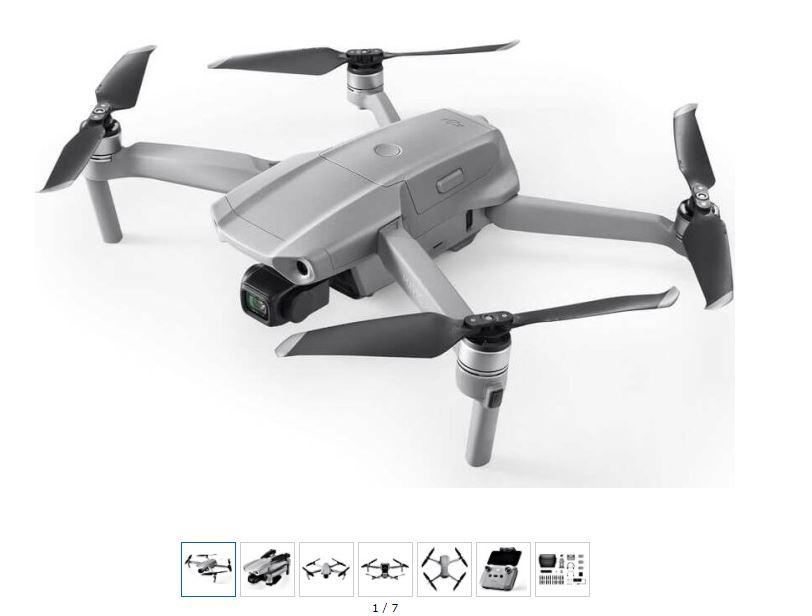 dji »Mavic Air 2 Fly More Combo« Drohne (4K Ultra HD)