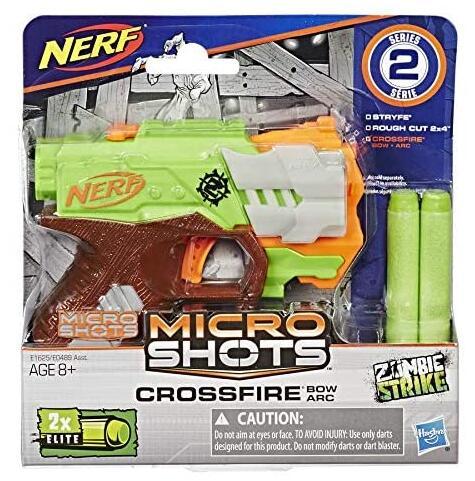 Hasbro Nerf Zombie Strike MicroShots Crossfire Bow
