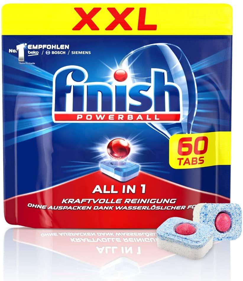 4x Finish All in 1 Spülmaschinentabs (je 60 Stück)