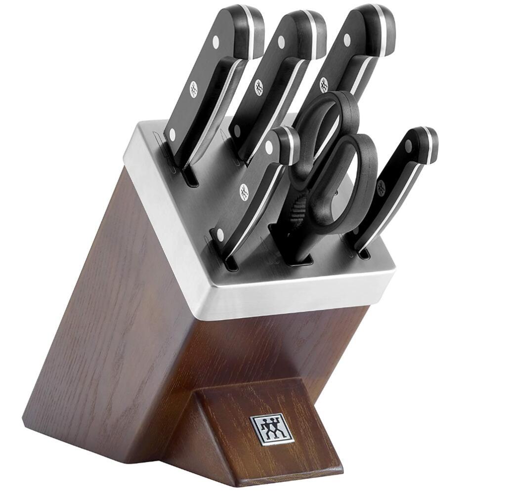 Zwilling Gourmet, 7-teiliger, selbstschärfender Messerblock