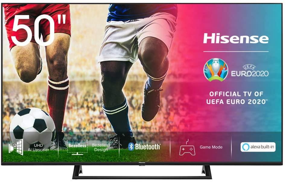 """Hisense 50AE7200F - 50"""", 4K Smart-TV mit Tripple Tuner und HDR"""