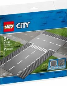 @Thalia LEGO® City 60236 - Gerade und T-Kreuzung (Info: Keine normalen Straßen mehr ab 2021)