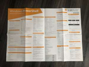 Poster mit PowerShell Cmdlets