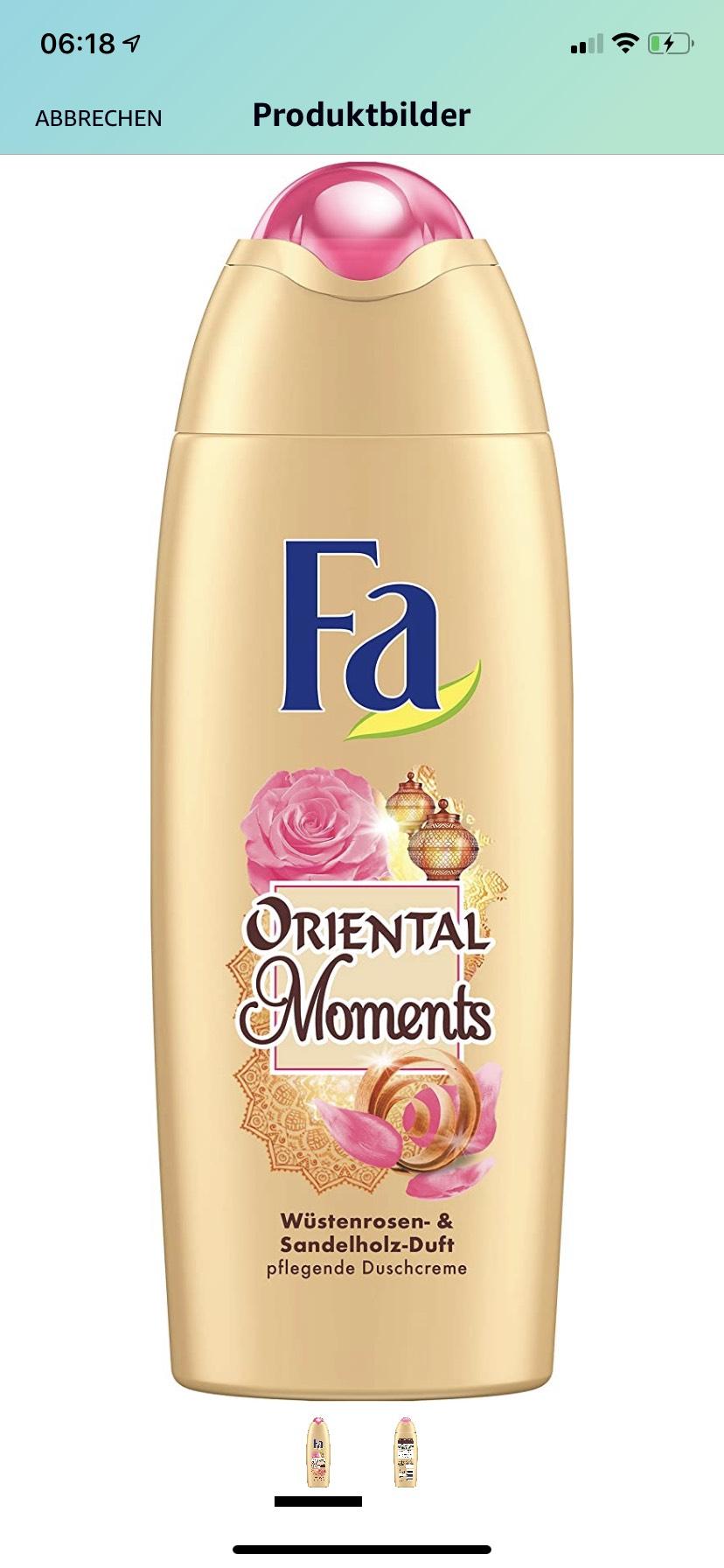 FA Duschcreme Oriental Moments mit Wüstenrosen- & Sandelholz-Duft
