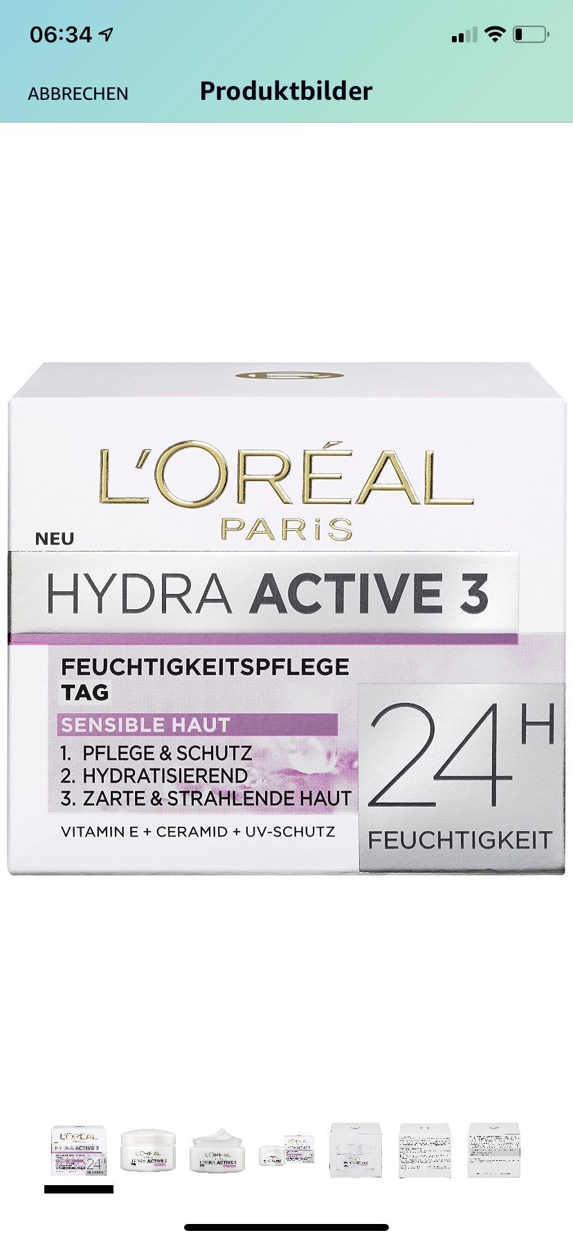 L'Oréal Paris Dermo Expertise Hydra Active 3 Tag
